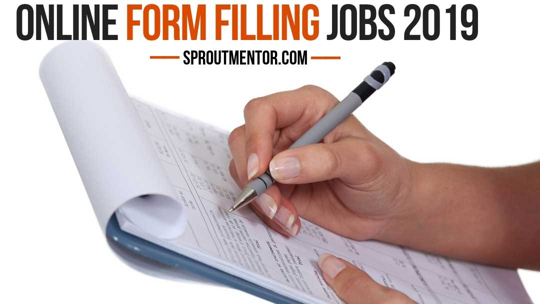 Daily Payout Online Form Filling Jobs Without Investment